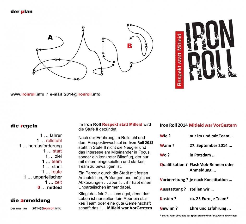 Iron Roll 2014 city tournament